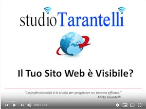 video visibilità di un sito web